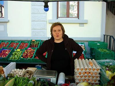 Markt am Röschibachplatz Samstag, 30.5.09